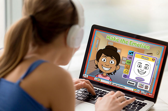 Teacher using QuaverSEL
